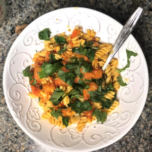 I TRIED IT: A Vegan Spin on the Trendy Tomato/Feta/ Pasta Recipe
