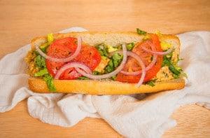 Luhv Vegan Tuna Sandwich